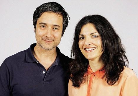 Joe and Monica Wahla