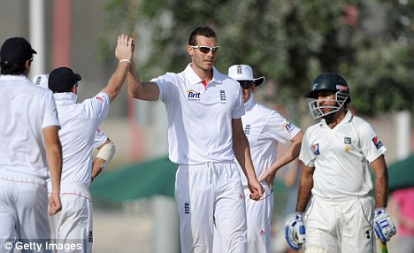 In the wickets: Tremlett claimed four scalps