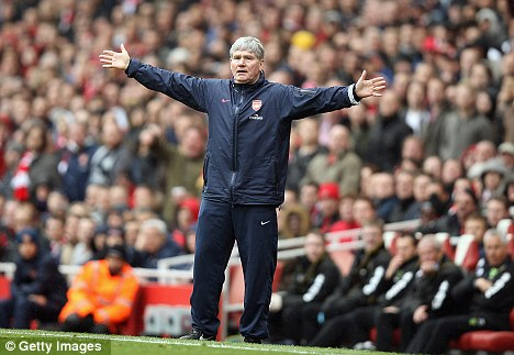 Thanks for the memories: Pat Rice is quitting as Arsenal assistant manager