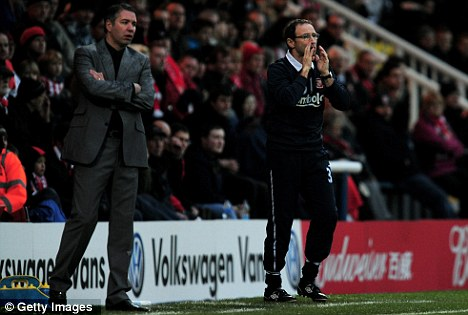 Call to arms: Martin O'Neill insists Sunderland are still battling relegation