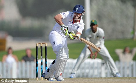 Captain: Andrew Strauss will lead England's three-Test tour against Pakistan