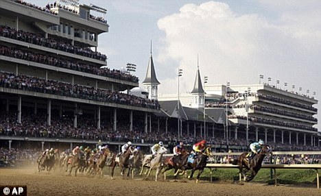 Racing world: The 48-year-old had worked at the famous Kentucky Derby, pictured, since 2008