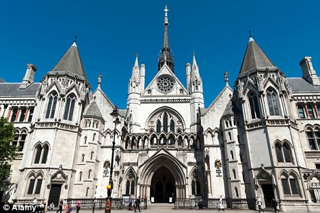 Denied: Two judges at the High Court, pictured, ruled that Mr Tappin can be extradited, a decision he has slammed as a 'failure'