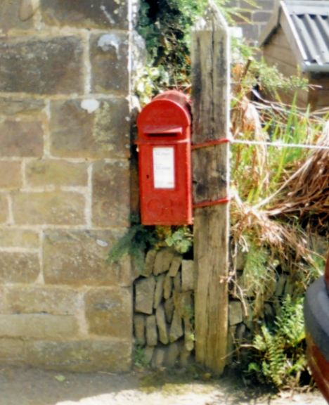 Removed: Albert Kingdom's local postbox had to be removed because it was rotten, the Royal Mail said