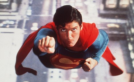 But which superhuman would Sarkozy be? Perhaps Carla Bruni was likening him to Superman, played here by Christopher Reeve