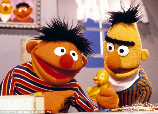 Still a firm favourite: Sesame Street leads the children's television shows with 16 nods