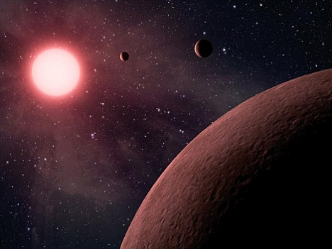 All three planets are thought to be rocky like Earth. Of the more than 700 planets confirmed to orbit other stars, called exoplanets, only a handful are known to be rocky