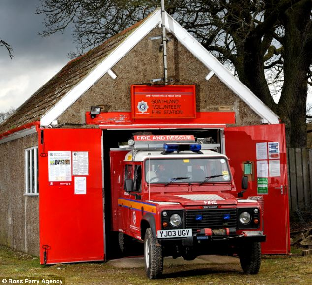 The station entirely manned by volunteer Firefighters who are on call 365 days per year provides vital cover for the isolated community and surrounding areas