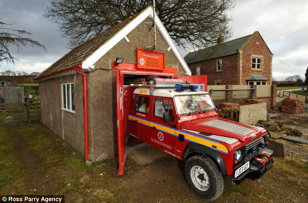 The Goathland Volunteer Fire Station is set in the heart of the North Yorkshire Moors National Park and houses a Land Rover Discovery