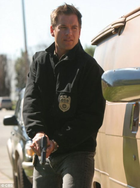 New role: Michael Weatherly is best-known for starring on TV show NCIS