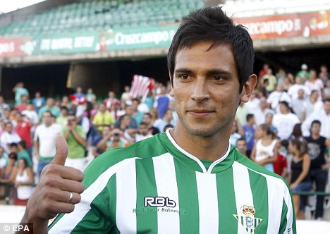 Real deal: The Paraguay forward has scored four league goals this season