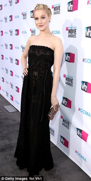 Feeling feminine: Eva sported a much more prettier style compared to her usual grungy look as she stepped out at the 17th Annual Critics' Choice Movie Awards tonight