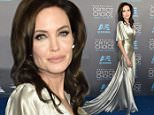 Angelina Jolie\n20th Annual Critics' Choice Movie Awards, Arrivals, Los Angeles, America - 15 Jan 2015\nWEARING VERSACE\nMandatory Credit: Photo by Rob Latour/REX (4377245ag)