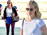 EXCLUSIVE: Newly Single January Jones steps out for breakfast and a bit of shopping  with her son Xander and sister. January wore a pair of jean shorts with a pair of sparkly tights underneath. She wore a white t shirt and a cardigan on top. \nthe family were seen hitting up a local mall after having breakfast.\nNews broke this week that the Mad Men actress split from her boyfriend Will Forte after dating just a short 5 months\n\nPictured: January Jones and Xander Jones\nRef: SPL1180801  211115   EXCLUSIVE\nPicture by: Fern / Splash News\n\nSplash News and Pictures\nLos Angeles: 310-821-2666\nNew York: 212-619-2666\nLondon: 870-934-2666\nphotodesk@splashnews.com\n