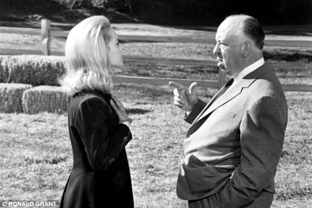 Tension: Miss Hedren claims Hitchcock said her career would prosper only if she began sleeping with him