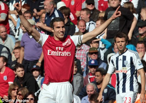 Let's talk: Arsene Wenger hopes to sort Van Persie's future before the Dutchman heads to Euro 2012