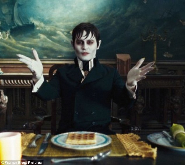 Taking a beating: Dark Shadows failed to see the light at the North American box office this weekend and came in a disappointing second place