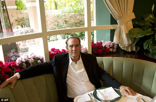 Keep it in the family: Great grandson of the founder, author and Beverly Hills Hotel historian, Robert S. Anderson, in the Polo Lounge
