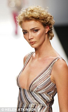 As she was: Jodie Kidd at London Fashion Week in 2004