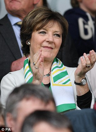 Cooking up a storm: Norwich joint-owner Delia Smith watched another victory at Carrow Road