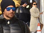 EXCLUSIVE TO INF\nNovember 21, 2015: Bradley Cooper and girlfriend Irina Shayk looking sophisticated in a cream color outfit and tan boots are pictured today heading out for lunch in New York City.\nMandatory Credit: Elder Ordonez/INFphoto.com Ref: infusny-160