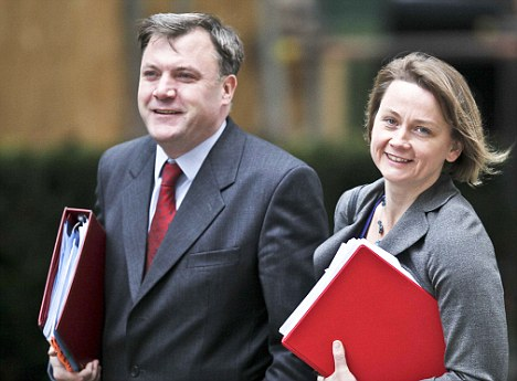 Girl power: I was heartened by Yvette Cooper's recent remark that she saves time by getting her husband Ed Balls to do the shopping and cooking