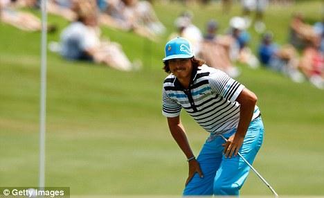 Inspired golfer: Fowler