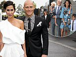 CELEBRITIES ATTEND THE 2015 DERBY DAY RACES AT FLEMINGTON RACECOURSE IN MELBOURNE\n\n31 October 2015\n©MEDIA-MODE.COM