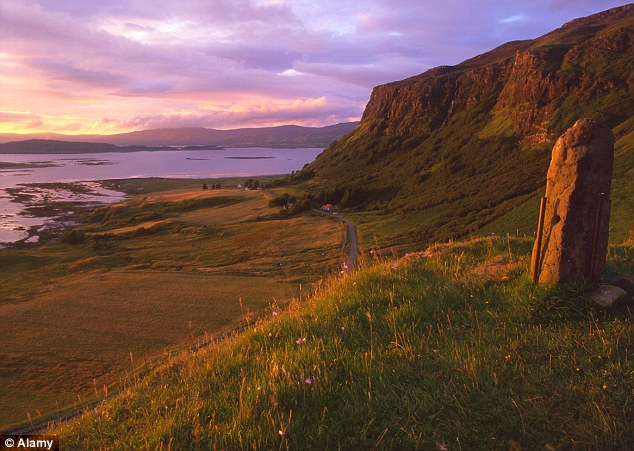 First experiment: The carbon project will take place near the Isle of Mull (pictured)