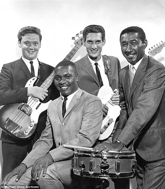 Soul: Their group would be one of the first racially integrated soul groups, with two whites (Dunn on bass and Cropper on guitar) and two blacks (Booker T. Jones on organ and Al Jackson on drums)