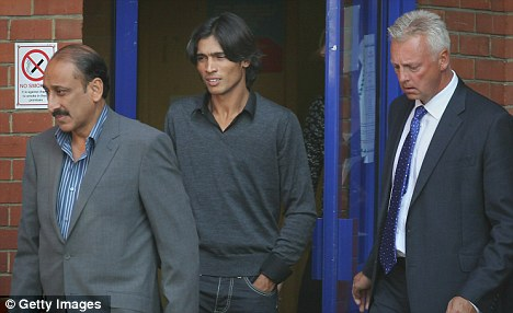 Overstepping the mark: Mohammad Aamer was imprisoned after pleading guilty to fixing allegations after bowling no-balls in a Test match