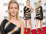 Picture Shows: Ellie Goulding  November 22, 2015    Stars seen arriving at the 2015 American Music Awards, held at Microsoft Theater in Los Angeles, California.    Non Exclusive  UK RIGHTS ONLY    Pictures by : FameFlynet UK © 2015  Tel : +44 (0)20 3551 5049  Email : info@fameflynet.uk.com