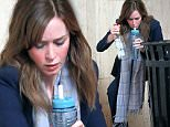 EXCLUSIVE: Actress Emily Blunt fills her water bottle with vodka filming 'The Girl on the Train' in Grand Central Station in New York City\n\nPictured: Emily Blunt\nRef: SPL1182107  221115   EXCLUSIVE\nPicture by: Christopher Peterson/Splash News\n\nSplash News and Pictures\nLos Angeles: 310-821-2666\nNew York: 212-619-2666\nLondon: 870-934-2666\nphotodesk@splashnews.com\n