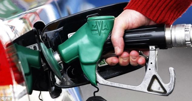 'Pain at the pumps': Drivers' groups and hauliers said George Osborne had 'turned his back on families'