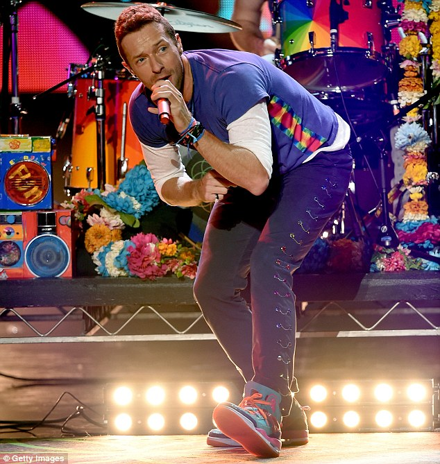Inspired: Coldplay frontman Chris Martin, pict its 'historic significance'
