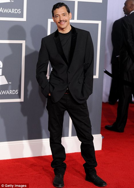 In the clear: El DeBarge, seen at the Grammy Awards in February, was arrested for drug possession - but the charges have now been dropped