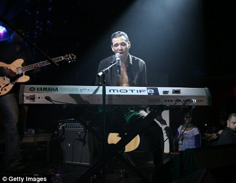 On stage: The50-year-old, seen performing in November 2010 checked into rehab last year