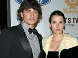 Mandatory Credit: Photo by Jim Smeal/BEI (506332ah).. Tom Welling and wife Jamie.. 'OCEAN'S TWELVE' FILM PREMIERE, LOS ANGELES, AMERICA - 08 DEC 2004.. ..