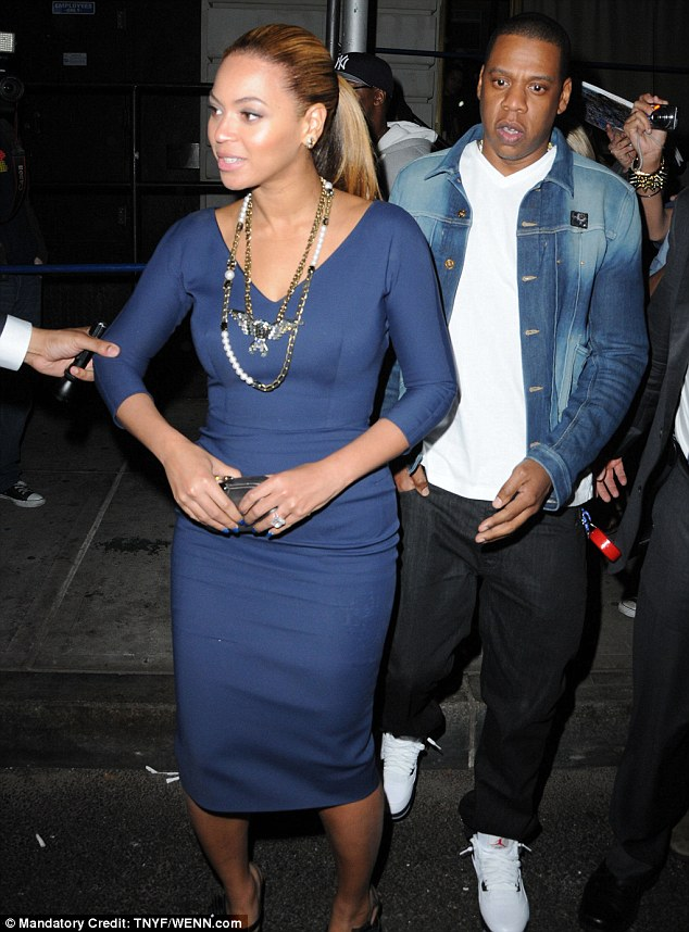 Looking good B! Beyoncé wore a stunning Victoria Beckham dress to Michelle Obama's fundraiser in New York City