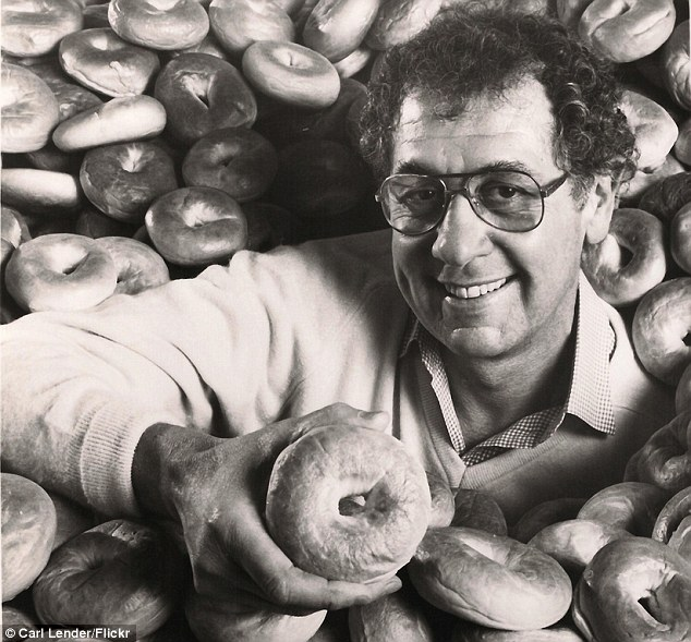 Pioneer: Murray Lender, who passed away yesterday, is credited with bringing the bagel into homes across America