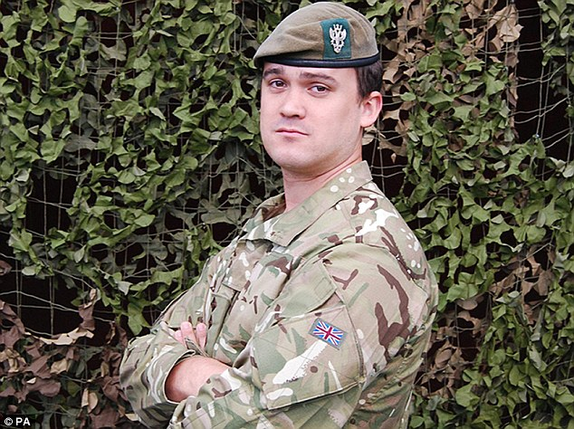 Bravest of the brave: Tributes have been paid to Captain Rupert Bowers, who was killed by an explosion in Afghanistan