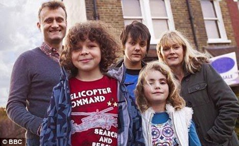 Sitcom: The stars are often at the centre of mayhem when they film the BBC1 show, about a mother and father who are outnumbered by their three children
