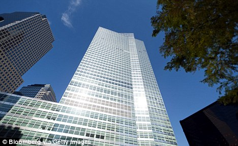 Smith, a Stanford graduate, worked at the Goldman Sachs New York headquarters (pictured) before moving to the London office