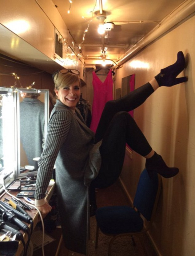 Strictly Come Dancing judge, and the Royal Ballet's former principal dancer, Darcey Bussell is struggling with her accommodation