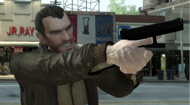 GTA: The video game, produced by Dan Houser, is notoriously violent - sparking criticism for promoting crime