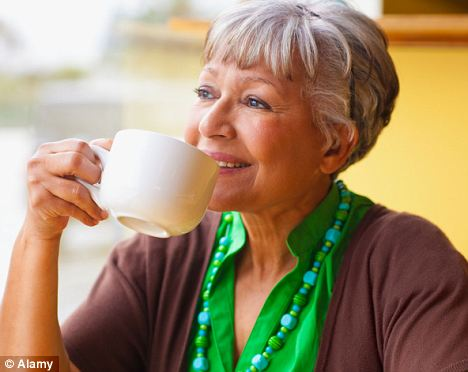 Coffee morning: Caffeine appears to trigger a protective reaction in the brain