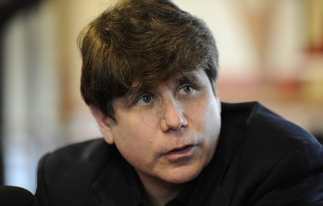 Rod Blagojevich's famously thick, dark hair is dyed and will turn gray within months as he serves his 14-year sentence in a Colorado prison