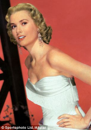 Timeless appeal: Hitchcock's perfect prototype of the screen blonde was Grace Kelly, pictured, the future Princess Grace of Monaco