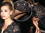 West Hollywood, CA - Hailey Baldwin strikes a pose for photographers after a late night at Justin Bieber's 2015 American Music Awards afterparty held at The Nice Guy in West Hollywood.\nAKM-GSI         November 22, 2015\nTo License These Photos, Please Contact :\nSteve Ginsburg\n(310) 505-8447\n(323) 423-9397\nsteve@akmgsi.com\nsales@akmgsi.com\nor\nMaria Buda\n(917) 242-1505\nmbuda@akmgsi.com\nginsburgspalyinc@gmail.com