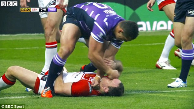 Hohaia was knocked unconscious by a vicious attack from Ben Flower in last season's Grand Final